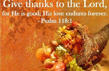thanksgiving-prayer psalm